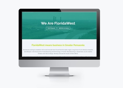 New FloridaWest Website Promotes Greater Pensacola & Escambia County for Economic Growth