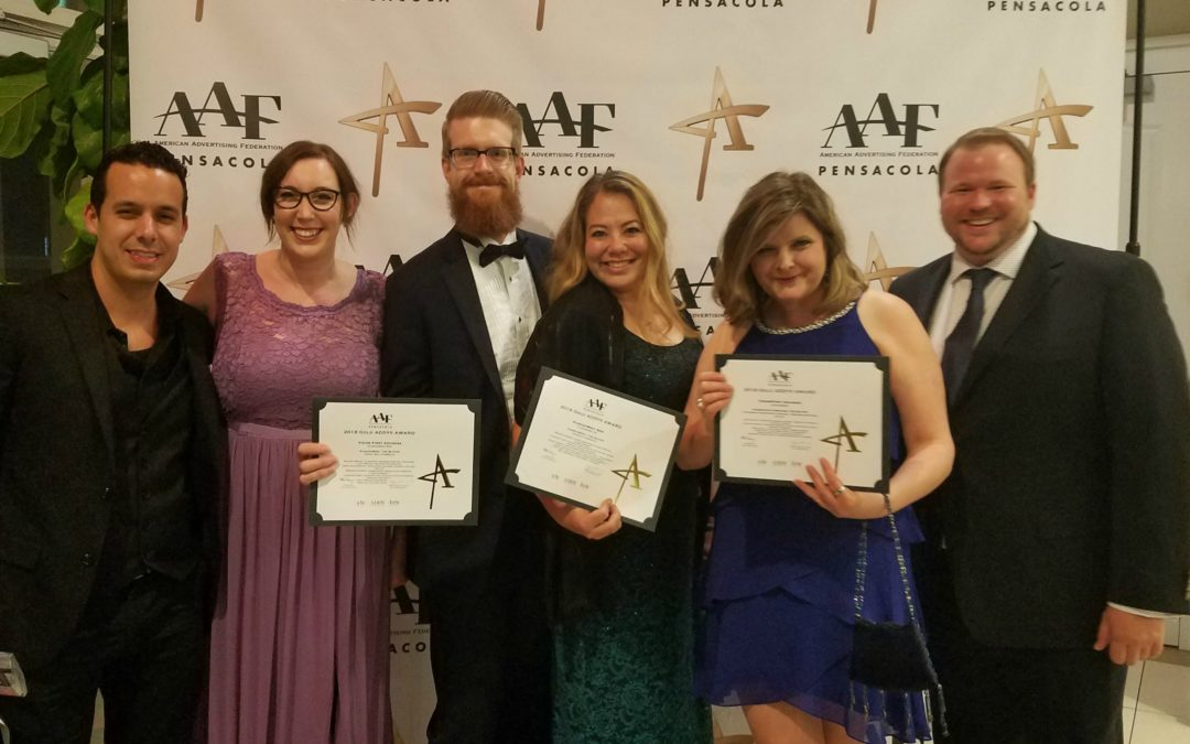 FloridaWest Marketing Winners at 2018 Addy Awards