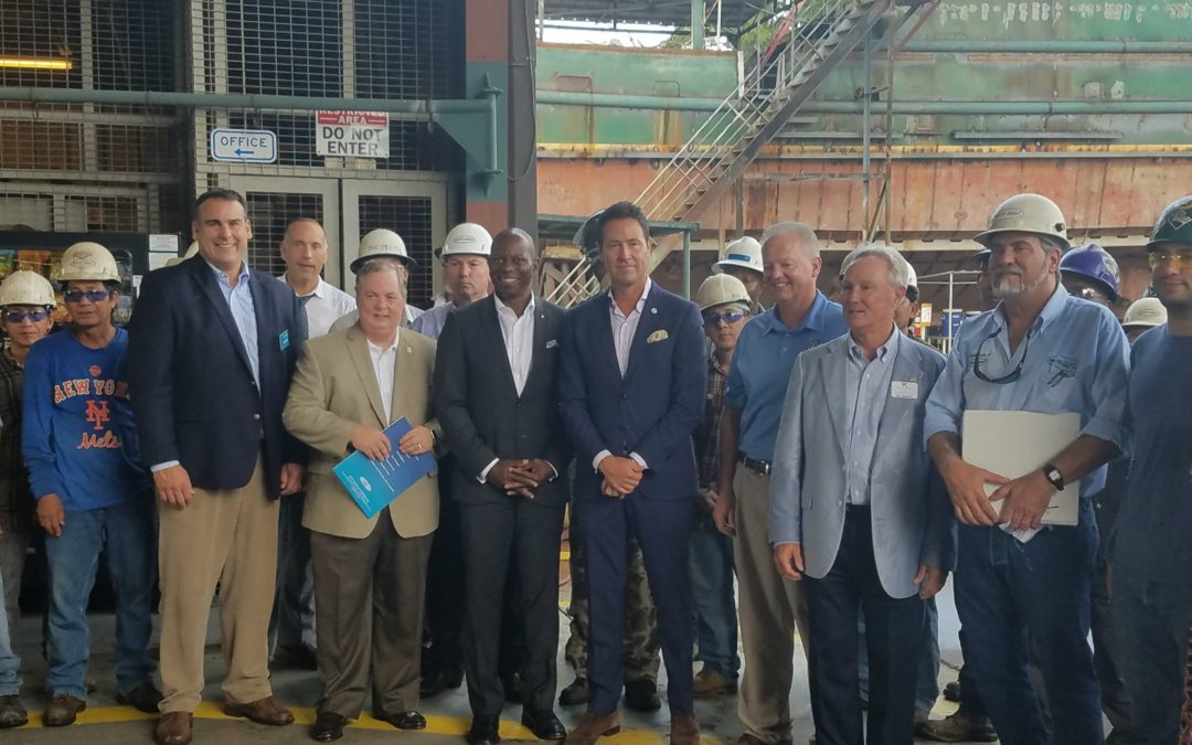$449,231 Awarded to Historic Patti Shipyard for Maritime Jobs in Pensacola