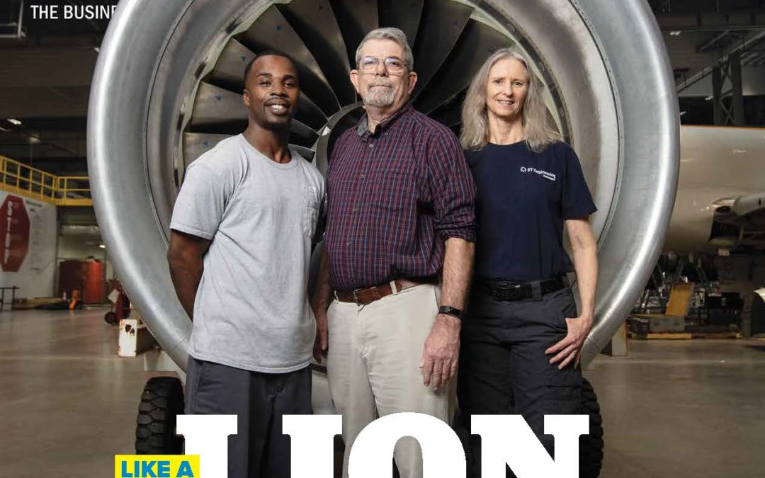 850 Escambia County Business Journal: ST Engineering Aerospace roars into Pensacola
