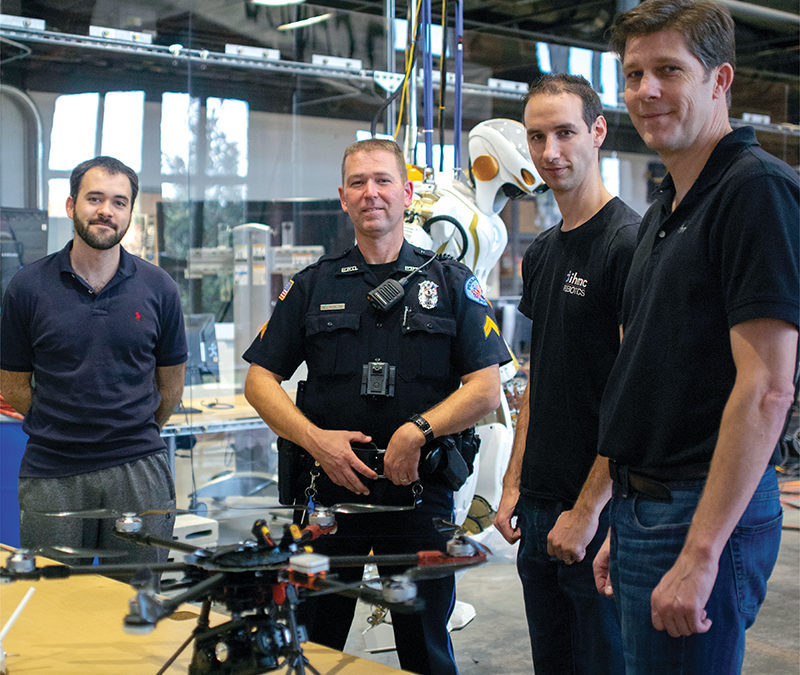IHMC Helps Pensacola Police Develop Drone Program