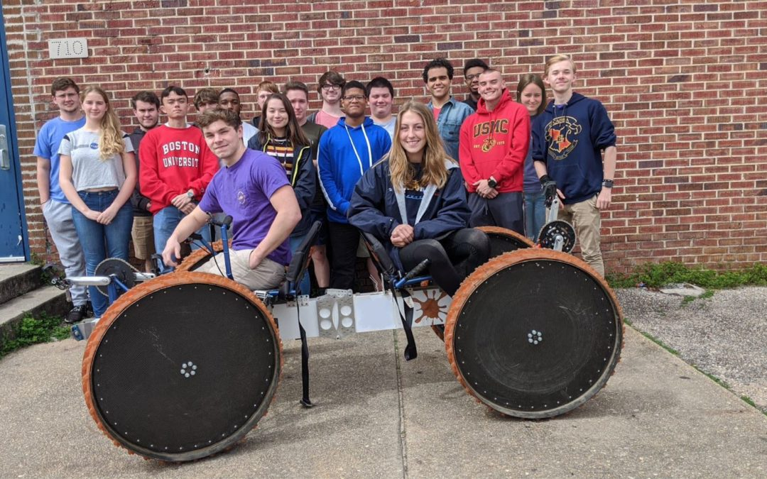 Congratulations to Escambia High School's Human Exploration Rover Challenge Team!